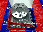 Coppia Distanziali Sparco con bulloni 5 mm ABARTH 500 Type 312   09 - 2008>